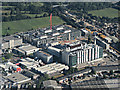 TQ1677 : Sky TV studios from the air by Thomas Nugent