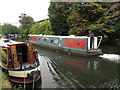 TQ1484 : Geronimo of Regent's Canal, narrowboat on Paddington Branch canal by David Hawgood