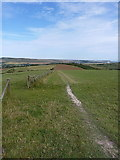 TQ4005 : Bridleway down Front Hill by Richard Law