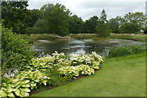 SE2853 : Queen Mother's Lake at RHS Garden Harlow Carr by Graham Hogg