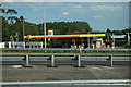 SP6849 : Shell Garage at Towcester by Ian S