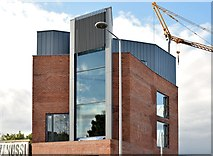 J3674 : New Connswater Visitor Centre, Belfast - August 2015(2) by Albert Bridge