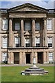 SK3622 : Portico on Calke Abbey by Philip Halling
