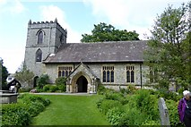 SD9772 : St Mary's Church at Kettlewell by David Smith