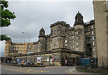 NS6065 : Glasgow Royal Infirmary by Anne Burgess