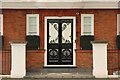 TQ2777 : Swan House doorway by Richard Croft