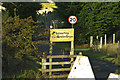TL8896 : Eastmere sign by Charles Greenhough