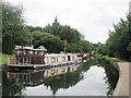 SE2336 : Boats on the canal at Fallwood Marina by Stephen Craven