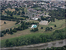 TQ1776 : Syon House from the air by Thomas Nugent