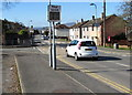 ST3090 : Your speed display and a bus stop, Pillmawr Road, Malpas, Newport by Jaggery