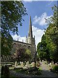 ST8992 : Church of St. Mary the Virgin and St. Mary Magdalen, Tetbury by pam fray
