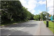 SH5638 : The A497, Ffordd Penamser (Penamser Road) at Porthmadog by Jeff Buck