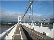 ST5590 : The Severn Bridge by David Purchase