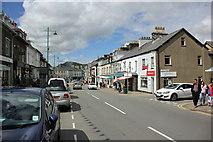 SH5638 : Stryd Fawr (High Street), Porthmadog by Jeff Buck