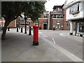 TM1644 : Silent Street Victorian Penfold Postbox by Adrian Cable