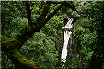 SN7477 : Mynach Falls, Devil's Bridge by Peter Trimming
