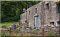 SD7555 : Derelict barn and pristine cottage at Brock Thorn by Ian Greig