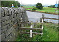 SE0322 : Stile on Sowerby Bridge FP103, Link B, at Rooley Lane by Humphrey Bolton