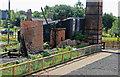 SJ6775 : Lion Salt Works - pump and engine house  by Chris Allen