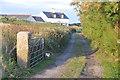 SW7112 : Cornwall : Farm Track by Lewis Clarke