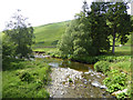 NY2992 : Confluence of Stennieswater and the Meggat water by Oliver Dixon