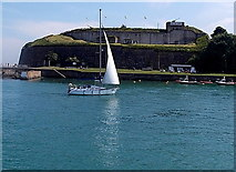 SY6878 : Nothe Fort, Weymouth by Jaggery