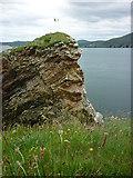 C2838 : Headland at Dunree Head by Carroll Pierce