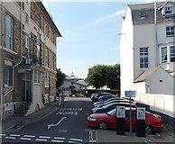 SY6878 : Pilgrims Way, Weymouth by Jaggery