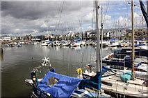 SH5638 : Porthmadog Harbour by Jeff Buck