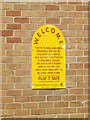 TL0652 : Play Area sign in Mowsbury Park by Adrian Cable