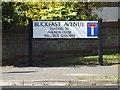 TL0652 : Buckfast Avenue sign by Geographer