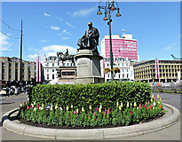 NS5965 : James Watt statue in George Square by Thomas Nugent