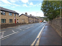SE0424 : Burnley Road - viewed from John Naylor Lane by Betty Longbottom