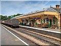 TG1543 : Sheringham Station by David Dixon