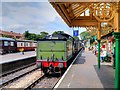 TG1543 : Steam Train Arriving at Sheringham by David Dixon