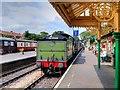 TG1543 : Steam Train Arriving at Sheringham by David Dixon
