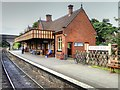 TG1141 : Main Station Building at Weybourne by David Dixon