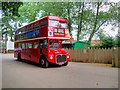 TG0939 : Ex-London Transport Routemaster at Holt Railway Station by David Dixon