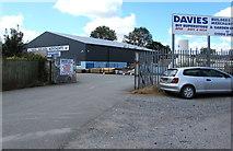 SN1916 : Davies Builders Merchants, Whitland by Jaggery