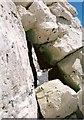 TV5795 : Passageway through a rock arch near Beachy Head by Adrian Diack