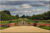 SE5158 : Beningbrough Hall Gates by Steve Wilson
