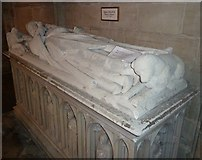 SU8504 : Chichester Cathedral - Tomb of Bishop Robert Stratford by Rob Farrow