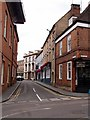 SP6933 : Castle Street, Buckingham by Julian Osley