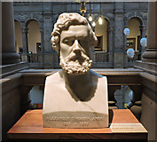 """NS5666 : Bust of Alexander """"Greek"""" Thomson by Thomas Nugent"""
