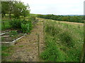 SE0322 : Diverted footpath at Long Royd, Sowerby by Humphrey Bolton