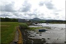 SH5727 : Artro estuary at Pensarn by DS Pugh
