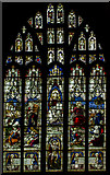 SK7953 : Stained glass window, St Mary Magdalene church, Newark by Julian P Guffogg