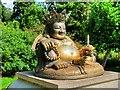 TF6928 : Chinese Joss, Sandringham Gardens by David Dixon