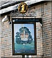 SJ8998 : Sign of the Royal Oak by Gerald England