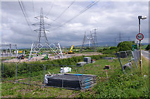 SD4160 : Middleton sub-station under construction by Ian Taylor